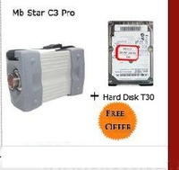 IDE hard drive with software for mb star c3 free shipping mb star hdd