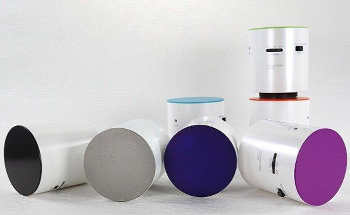vibration speaker , Dwarf 360 Omni-Directional Vibration Resonance, 5W loud+Battery+support TF spot +low+wholesale(China (Mainland))