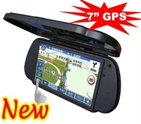 7 Inch GPS Rearview Mirror High Definition Bluetooth Handsfree