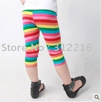 Installed in summer 2011, five new colorful children's clothing girls big Tonger Tongcai Hong Leggings