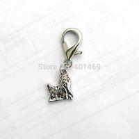 12Pcs lot free shipping metal Maltese dog charm dog collar ornament fashion pets accessory