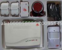 GSM  Wireless intelligent alarm with 99wireless and 5 wired ,Wireless Alarm,GSM Alarm