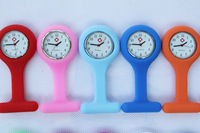100pcs/lot free shipping nurse watch doctor watch silicon watch Colourful Professional Useful Medical Watch