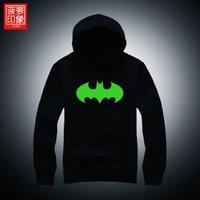 dota t-shirt Luminous guardian Batman clothing Avenger Union creative trend men's hoodies jacket coat