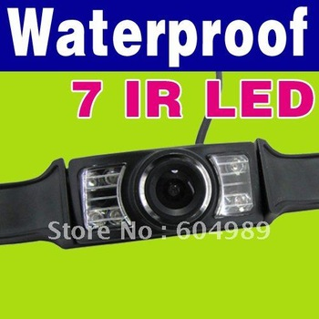 New Free Shipping Wireless Car Rear View IR Night Vision Camera for GPS N75
