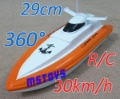 R/C 4CH  Boat & Ship 30km/h Radio control remote RC Free shipping Rechargeable