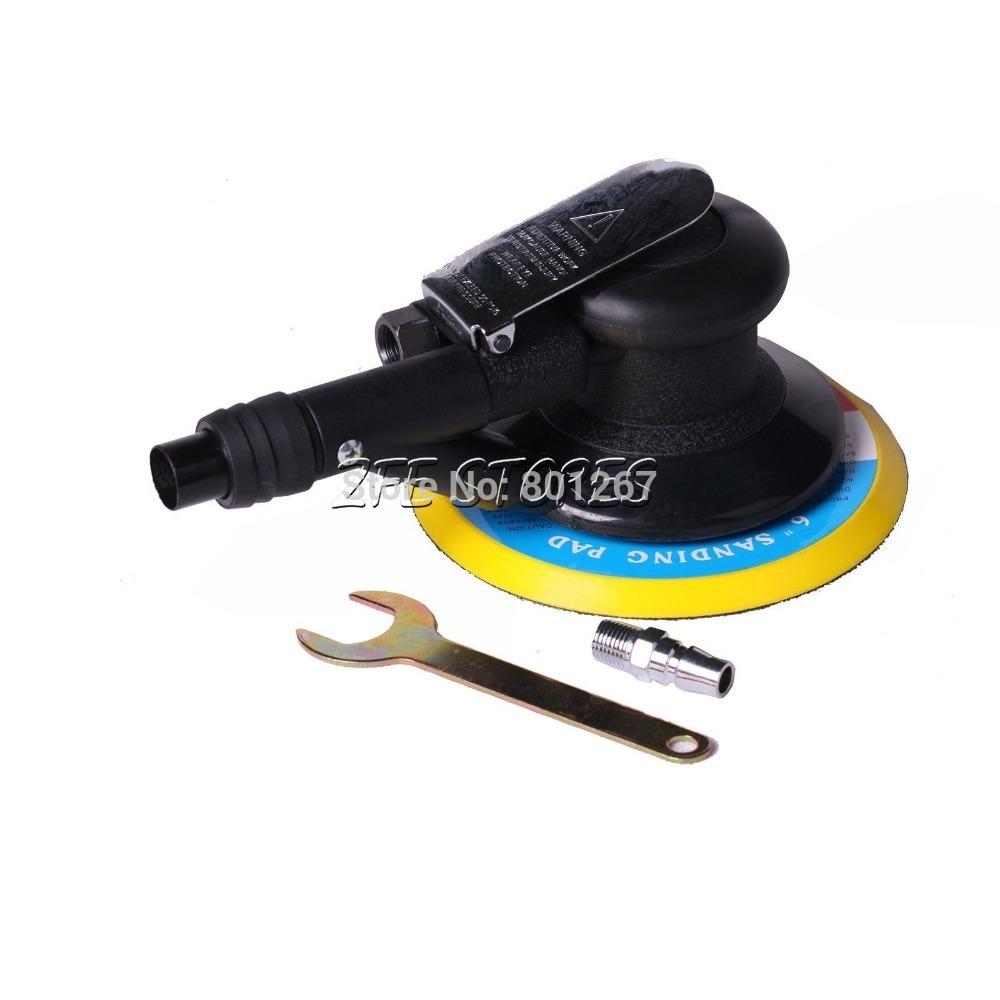 New 6 inch Orbital Air Palm Sander Car Polishing(China (Mainland))