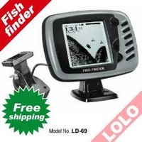 Free Shipping LD69 hot sales Big Screen mount on boat Fish Finder