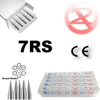 50pcs/box  7RS Sterilized tattoo needle needles free shipping Tattoo Supplies
