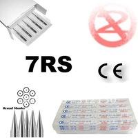 50pcs/box  7RS Sterilized tattoo needle needles free shipping Tattoo Supplies
