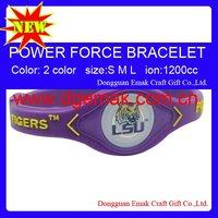 Power Force Collegiate Power Bracelets of LSU-TIGERS