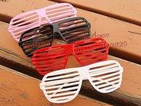 Free shipping 150pcs/lot mix color Order Full Shutter Glasses Window