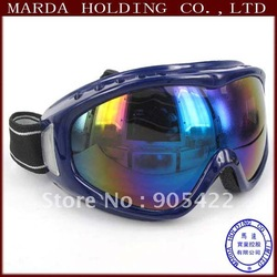 2pcs/lot free shipping Ski goggles,Goods for ski WH014p(Hong Kong)
