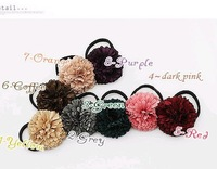 Hotsale fashion girls fabric flower hair band,hair accessories,ribbon-tree band,wholesale Free shipping