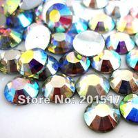 Free shipping Resin rhinestone flatback  for crystal AB color in 2mm  2.5mm 3mm 4mm 5mm 6mm 7mm 8mm