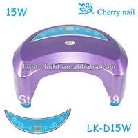 Free Shipping Factory wholesales LED Nail uv Lamp LK-D15 Nail Dryer
