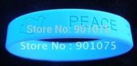 DHL Free Customized logo debossed bracelet; silicone wristband; promotional gifts