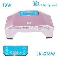 wholesale Free shipping LED Nail uv lamp LK-G18 Nail Dryer Nail Art