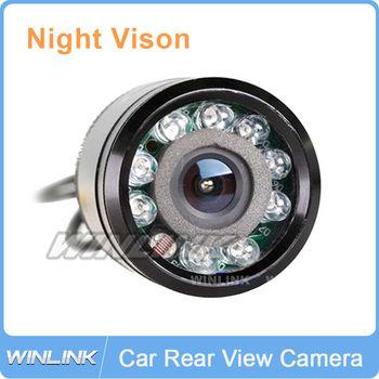 9 LED Night Vision HD Color Car Rear View Camera Parking Backup Reverse Camera Waterproof