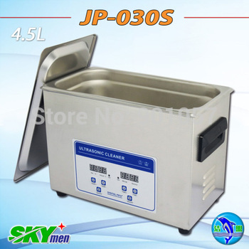FREE SHIPPING!! digital timer & heater ultrasonic cleaner 6L for light fitting washing