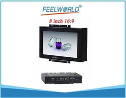 Hot! 8 inch Widescreen LCD Open Frame Touch Monitor & Display for Industrial Control Application + Free Shipping(China (Mainland))