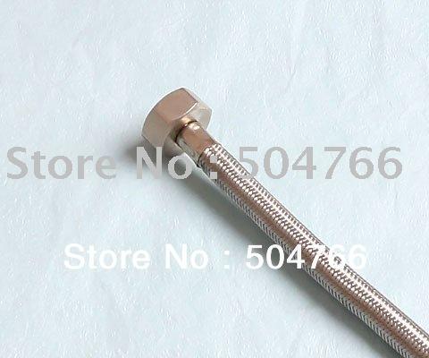 304 stainless steel Flexible Hose F1/2 40cm Knitting Hose plumbing hose shower hose EPDM inner pipe free shipping(China