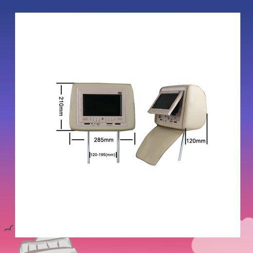 2pcs/lot 7inch Headrest dvd,Car dvd player,Headrest dvd player(China (Mainland))