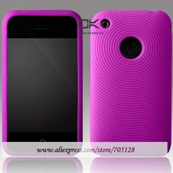 Case for iPhone 3G, Silicone Case for Apple iPhone 3GS, For iPhone 3G Swirling SIlicone Case(Hong Kong)