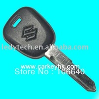 wholesale and retail Suzuki transponder key with 4D65 chip 25pcs/lot