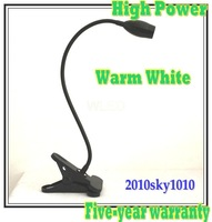 50% discount! High Power Desk lighting Warm White 3W reading lamp Bed room table lamps lights LD46