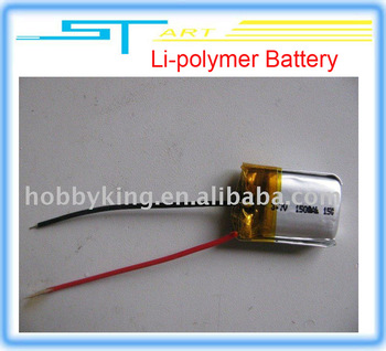 S107-19 Li-polymer Battery  3.7V 150mAh  for SYMA S107/S105 Helicopter Helicopter Spare Parts low shipping fee whol hot selling