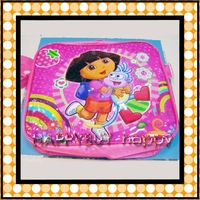 20 Sets Dora The Explorer Cartoon Free Shipping Kids Lunch Bag / Box Set (3pcs per set) Gift Hotsale