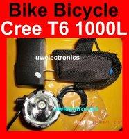 T6  Bike Bicycle 1000L LED  XM-L XML Flashlight MagicShine Headlight Headlamp 1000 lumens