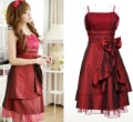 FY1110 2013 new big size spaghetti strap  Graduation cocktail party gown prom dress s-3XL