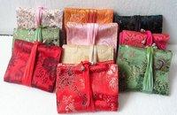 Free shipping! 30pcs Silk Bank card bag/COINS bag/credit card bag/silk bag/purse K02