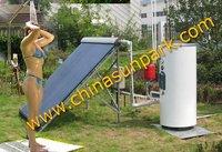 (DIY) Do it youself   free sea freight 100L solar water heater