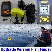 1pcs /lot Portable Sonar LCD Fish depth Finder, Alarm 100M AP,fishing iure,ice fishing finder