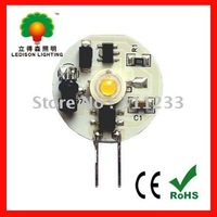 CE RoHS SAA approved 1Watt LED G4 bulb lamp 90~110lumens