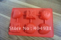the hottet products-9 holes silicone rubber cake mold with unique design and practical use