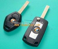 HU92 Folding Flip Key Case Refit for BMW 3 5 7 SERIES Z3 Z4 E38 E39 E46 Remote Case Fob