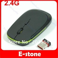 Free shipping 2.4G Mini USB Wireless Optical Mouse for PC Laptop 10m can control