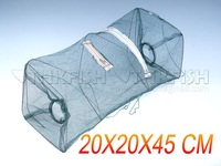 New Arrival ! 10Pcs Pack Fishing Collapsible Crabfish Collapsible Trap Cast Keep Nets Cage Crab fish Shrimp Lobster Crawfish