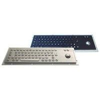 IP65 vandalproof industrial metal keyboard with trackball(X-BP66B)