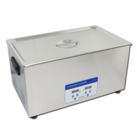 hardware metal ultrasonic cleaning machine 22liter 480W