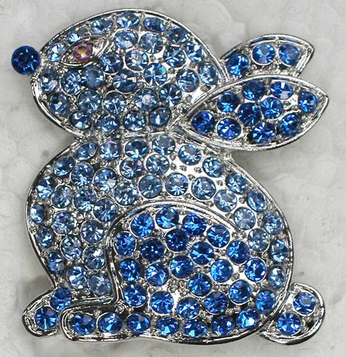 Rhinestone Easter Pins Crystal Rhinestone Easter