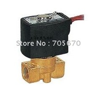 V2A Series 2 Way Brass Or SUS Body G1/4'' Electric Solenoid Valve V2A102-03