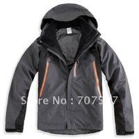 Winter brand ski jacket, 2 in 1, hunting clothes for outdoor men, size S-XXL