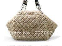 Wholesale - Gorgeous NAPA leather retro design lady handbags with luxury hook ornament / shoulder bags Z007