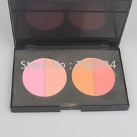 Prol 4 Colors Blusher Makeup Palatte Powder Blush Blinking And Graceful Powder 12/packet 1#
