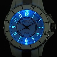 New Color Flash Mens Ladies Gift Sport Wrist Watch OHSEN Wholesale Retail A055